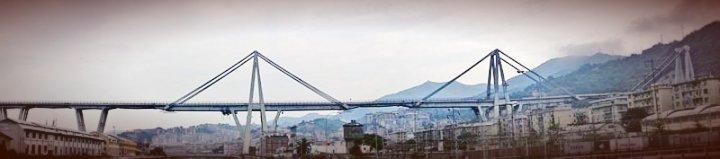 Riccardo Morandi, il ponte autostradale sul Polcevera