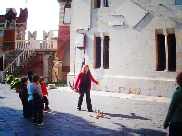 Giochi del Maghreb nel cortile del Castello d'Albertis