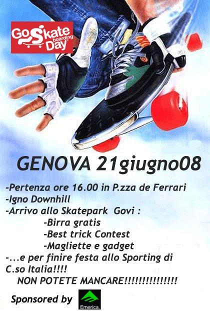 Go Skate 2008 Genova