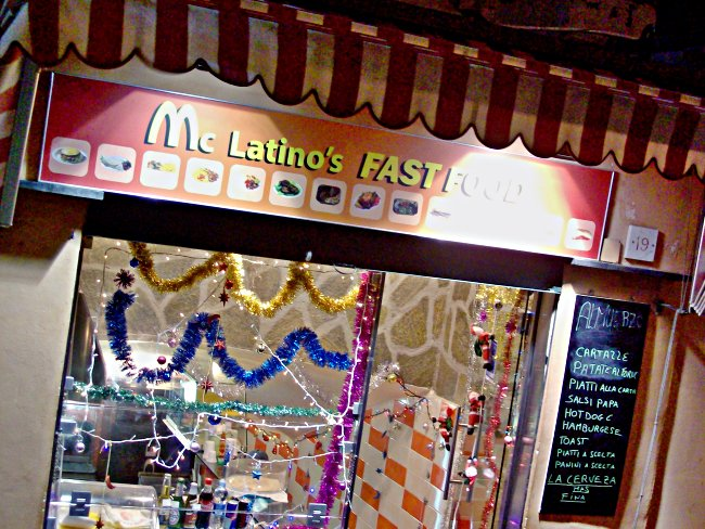 mc latino's fast food