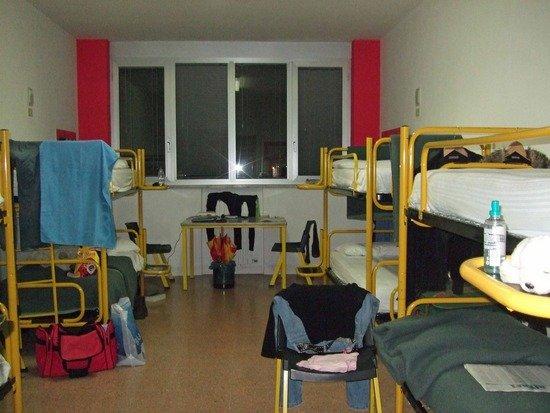 hostel, hospital or prison?