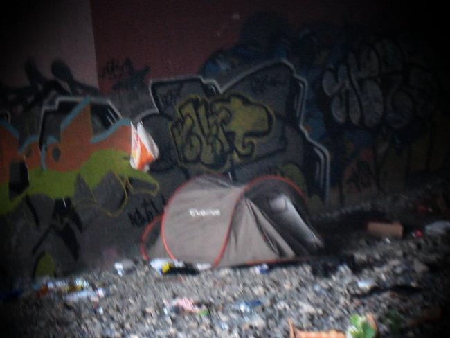 la tenda nel bisagno