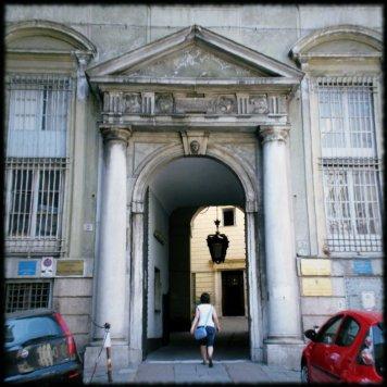 Biblioteca Facoltà di Lingue, Piazza S. Sabina