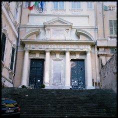 Biblioteca Universitaria, Via Balbi