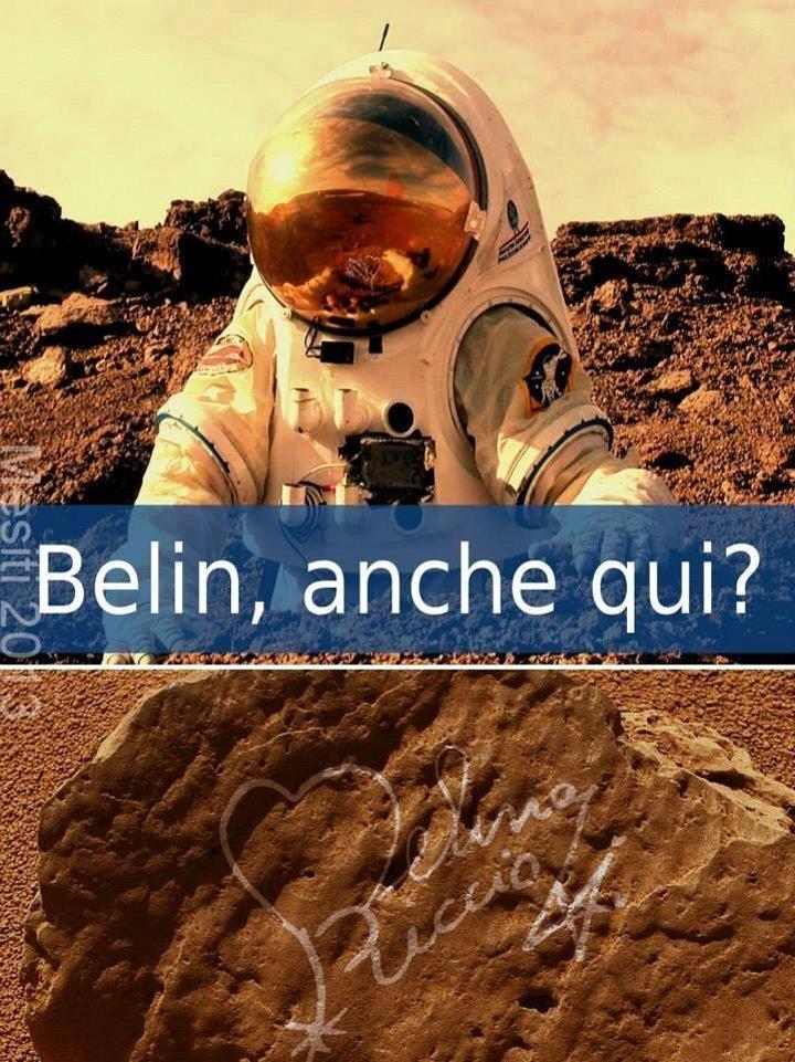 Melina Riccio su Marte