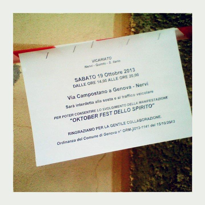 oktoberfest dello spirito