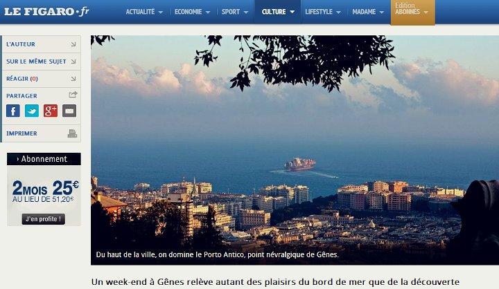 Un week-end à Gênes