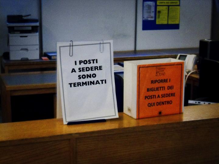 Biblioteca Berio I POSTI A SEDERE SONO TERMINATI