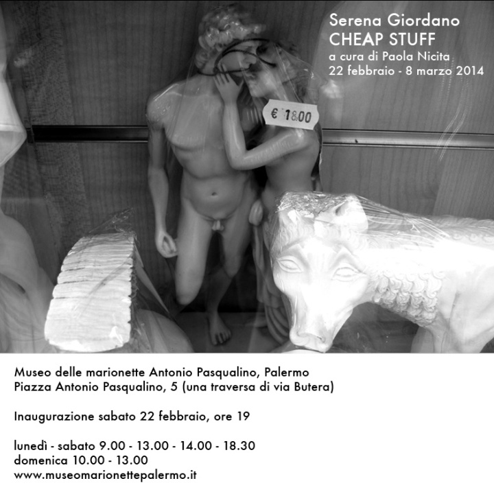 Cheap Stuff - Serena Giordano in mostra a Palermo
