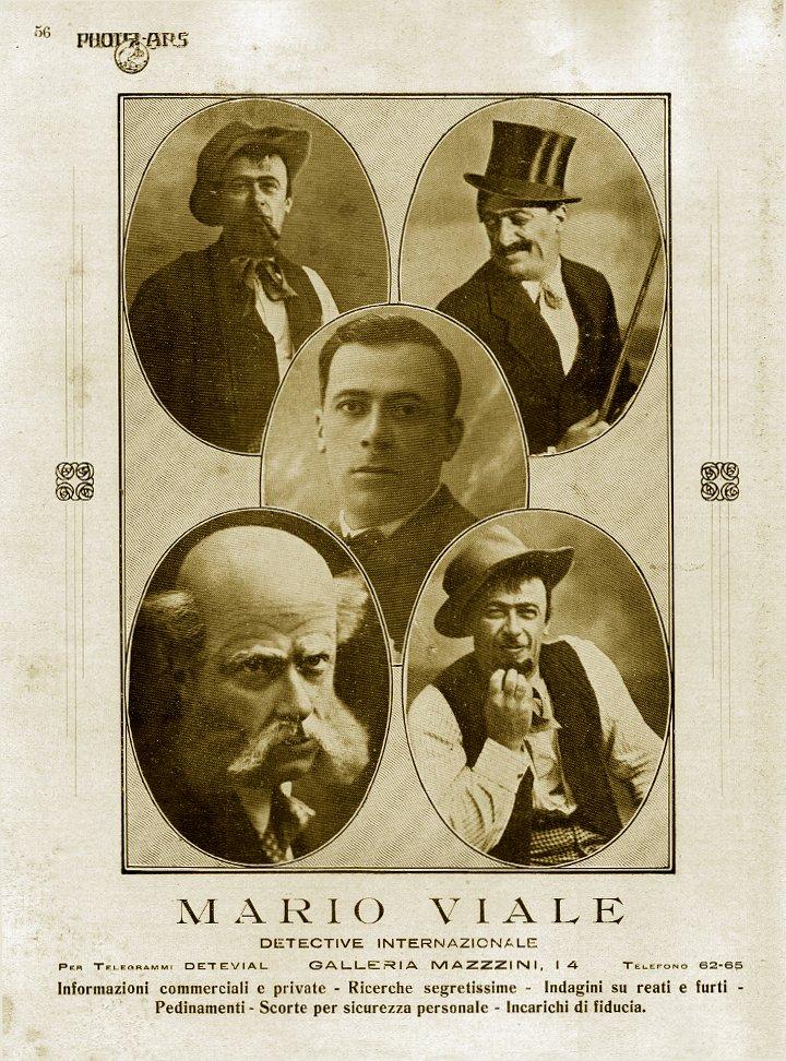 Mario Viale, il detective internazionale di Galleria Mazzini 14