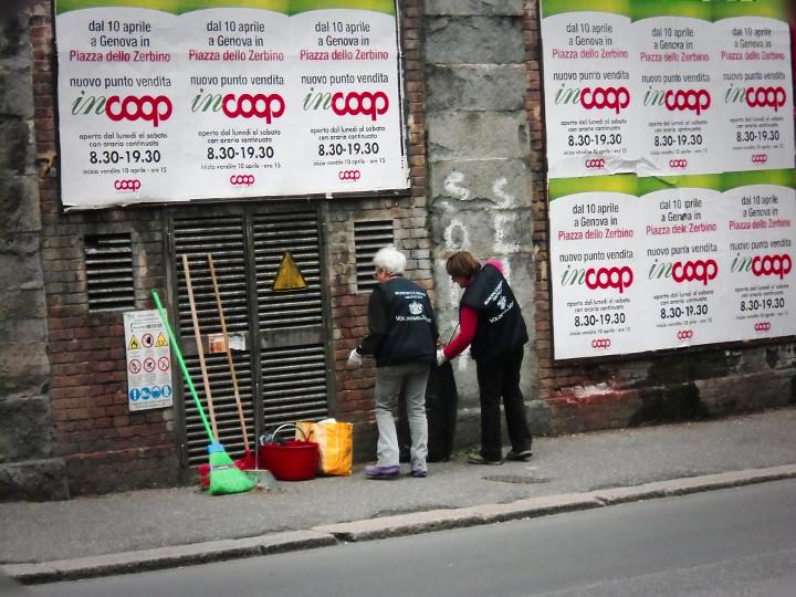 Municipio Centro Est, i Volontari del Verde