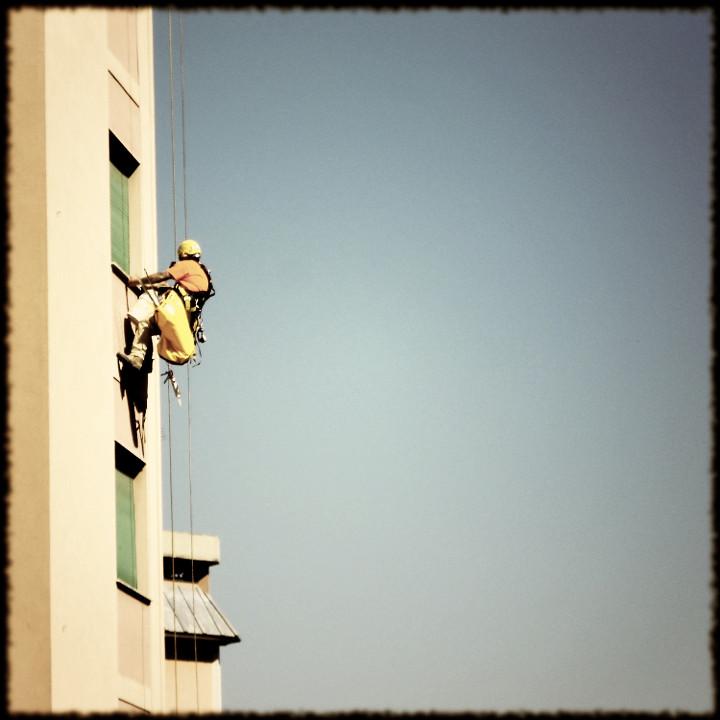 I lavori in acrobazia