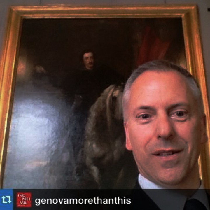 Il selfie di Marco Doria