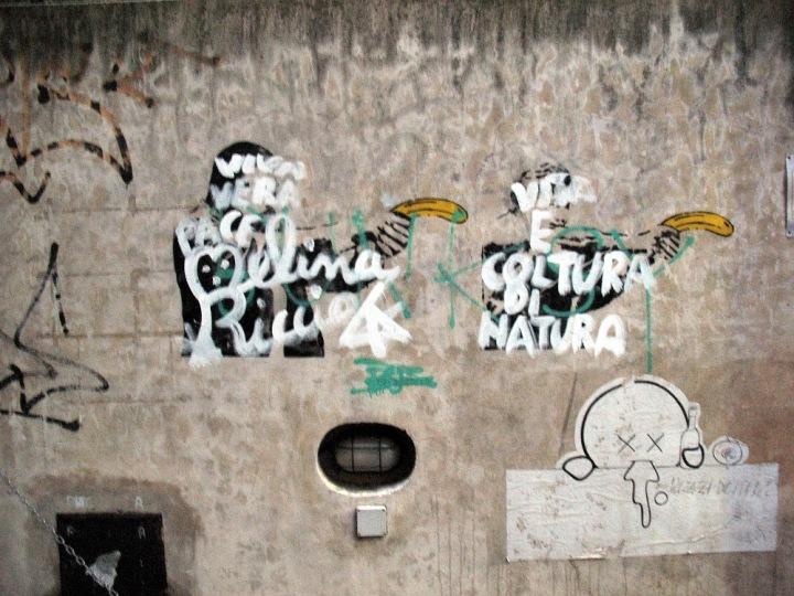 Melina Riccio vs. la replica di Banksy