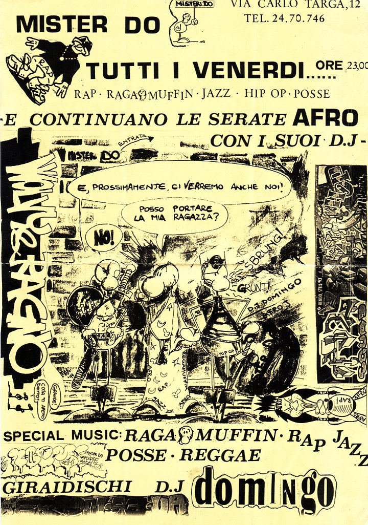 Mister Do, continuano le serate afro (1994)