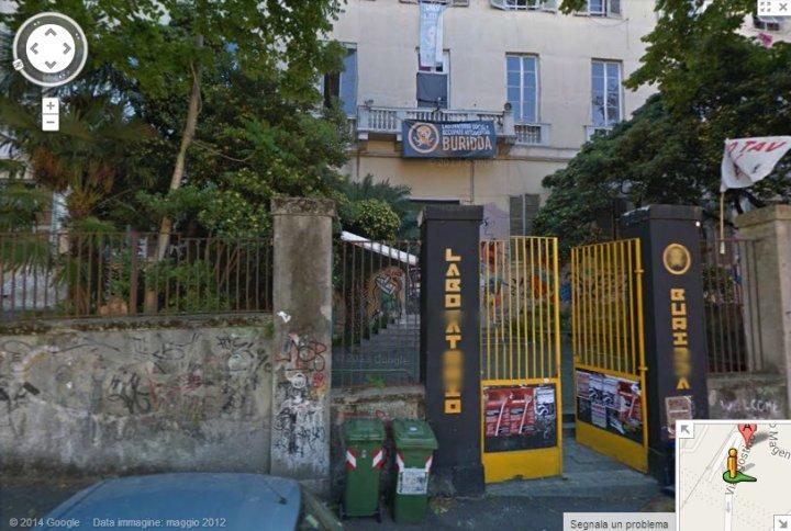 Il Buridda com'era, su Google StreetViev
