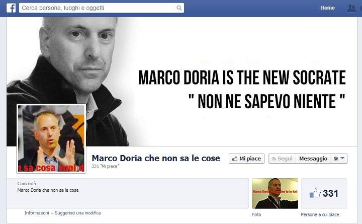 Marco Doria che non sa le cose