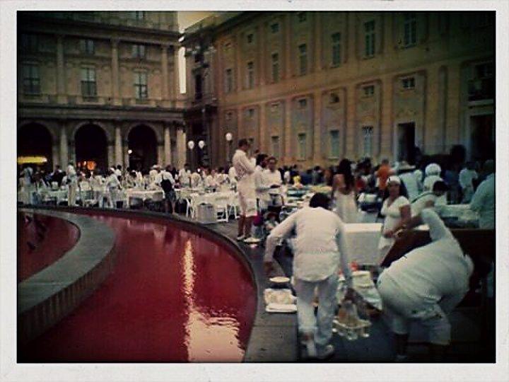 Cena in bianco  a  De Ferrari