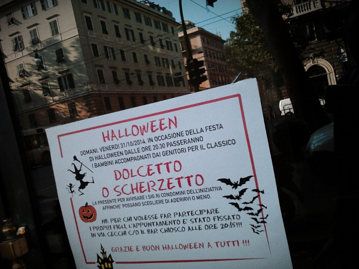 Foce, Halloween