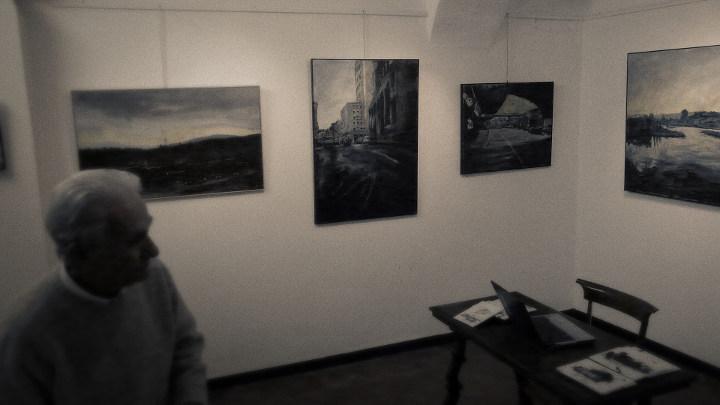 Carlo Firullo in mostra alla Galleria Tavarone