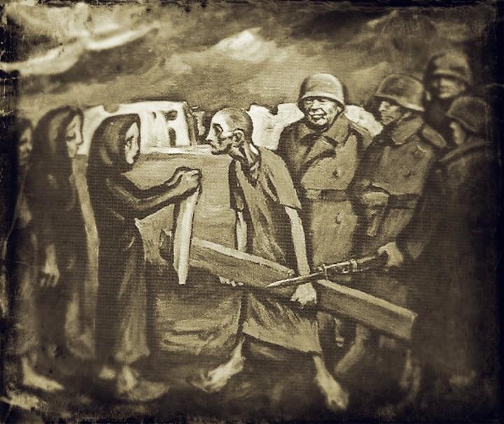 Renato Cenni, scena dalla Via Crucis