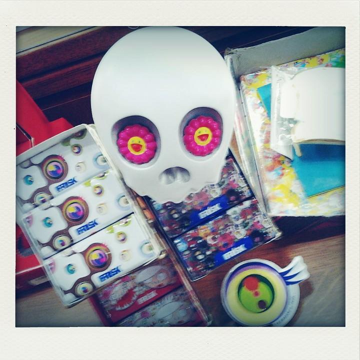 Murakami x Frisk, Frisk x Murakami, via Bixio
