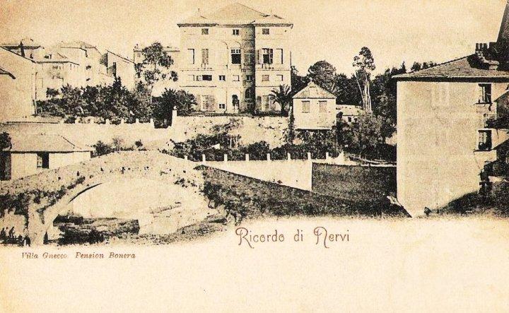 Nervi, Pension Bonera (1900)