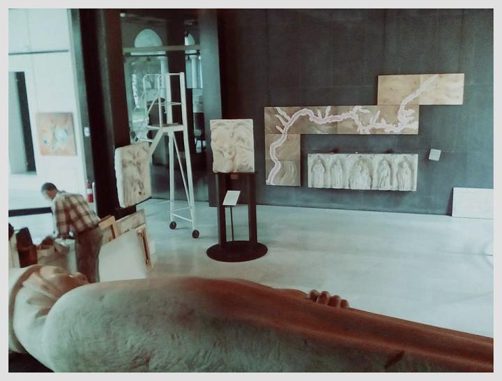 Antonello Ruggieri, La sublimazione del fango al Museo di Sant'Agostino