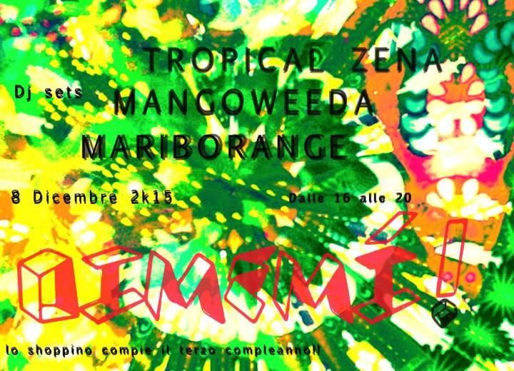 Mangoweeda DJ set per Oimemì