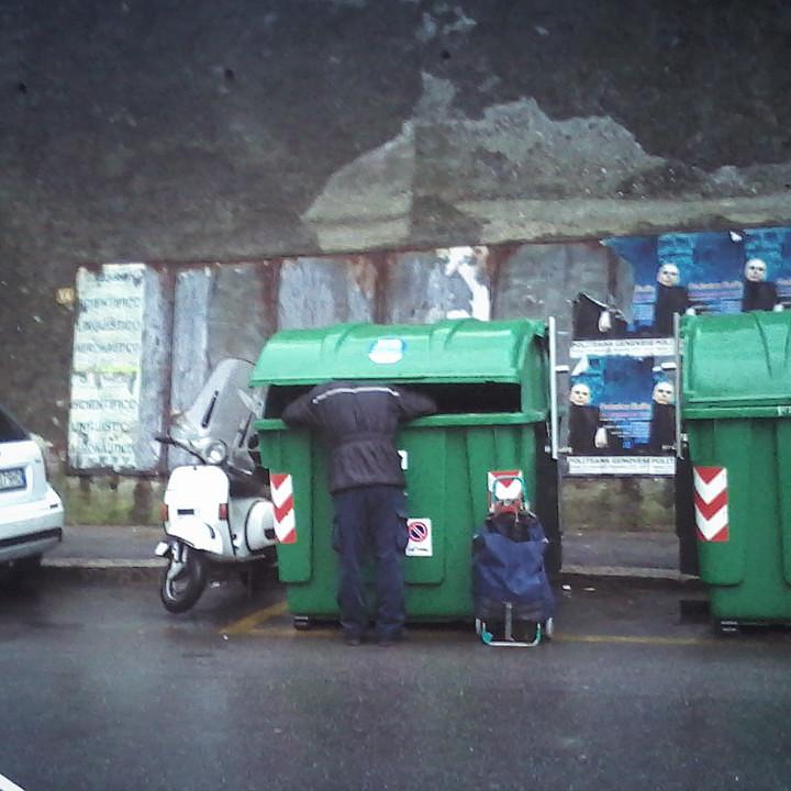 Dumpster diving, edizione di gennaio