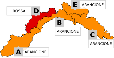 Allerta Liguria