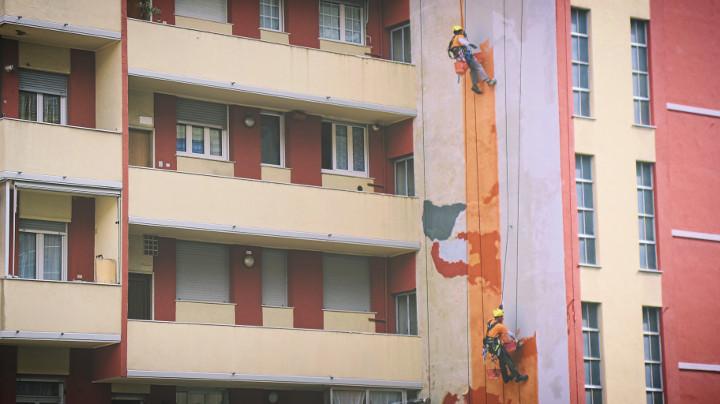 La città dall'alto, edilizia acrobatica