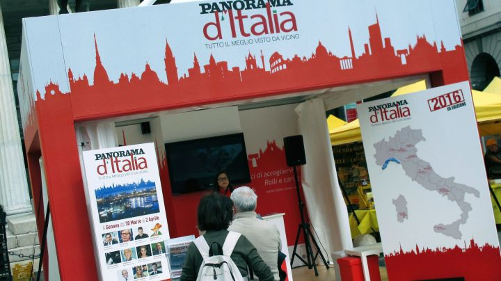 Panorama d'Italia a De Ferrari