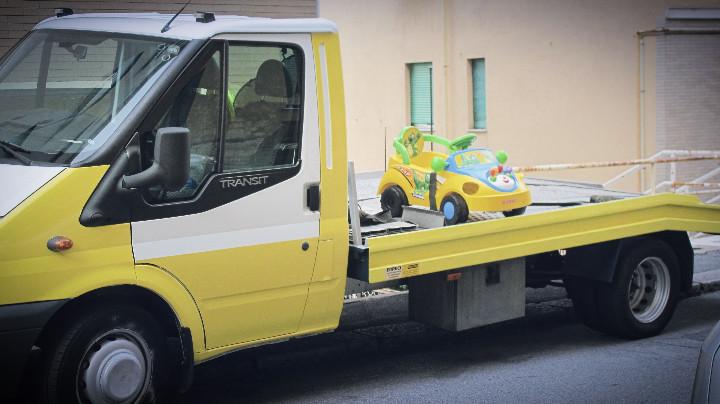 Staglieno, mini-autosoccorso